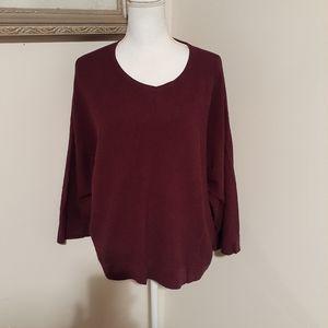 Purejill knit sweater top medium no wear pockets